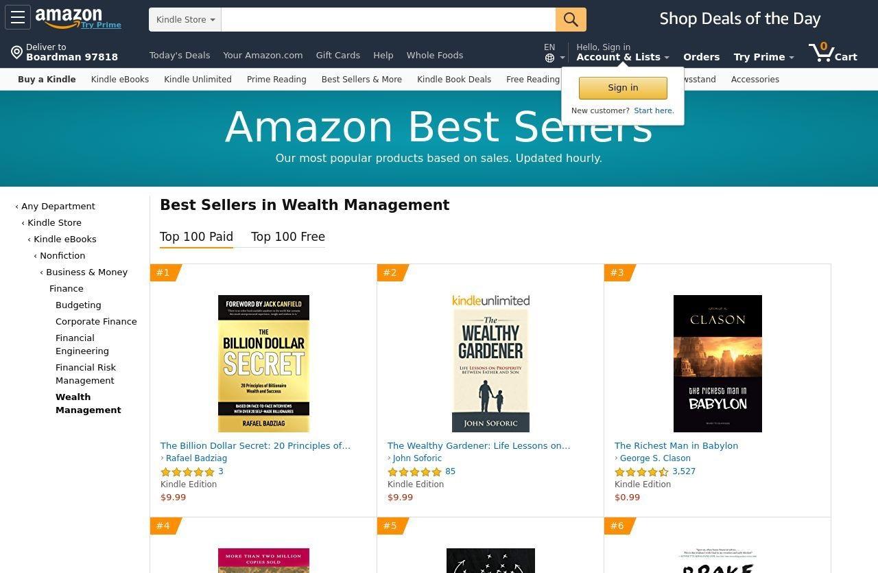 The Billion Dollar Secret – 20 Principles of Billionaire Wealth and